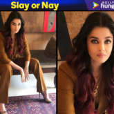 Slay or Nay - Aishwarya Rai Bachchan in Massimo Dutti for an interview (Featured)