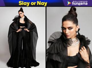 Slay or Nay - Deepika Padukone in Anamika Khanna for Star Screen Awards 2018