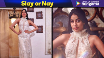 Slay or Nay - Janhvi Kapoor in Faraz Manan for Lokmat Most Stylish Awards 2018 (Featured)