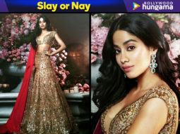 Slay or Nay - Janhvi Kapoor in Manish Malhotra