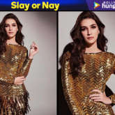 Slay or Nay - Kriti Sanon in Falguni and Shane Peacock for KWK 6 (Featured)