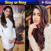 Slay or Nay - Sara Ali Khan in Marciano for Simmba promotions (Featured)