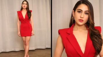 Slay or Nay - Sara Ali Khan in Nikhil Thampi for Simmba promotions (Featured)