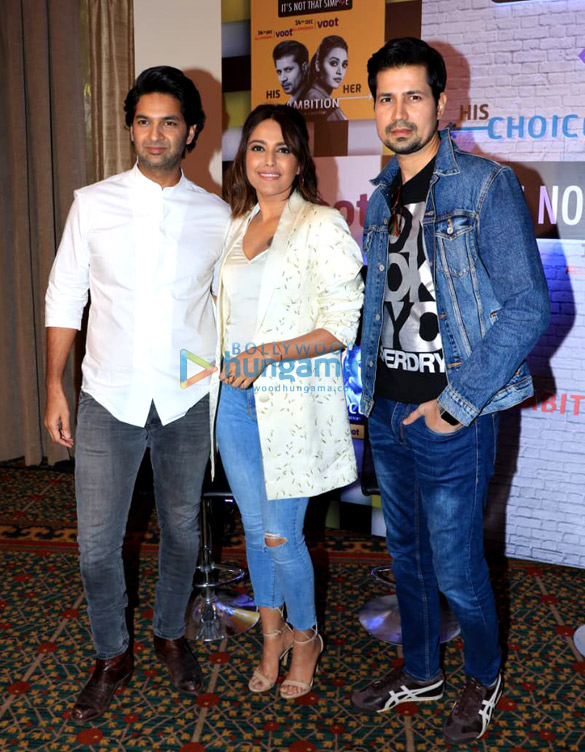 Swara Bhaskar, Sumeet Vyas and Purab Kohli snapped during the launch of Voot Original web series – 'It's Not That Simple' Season 2