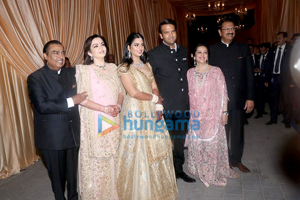 The Ambani Family Arrives At Isha Ambani