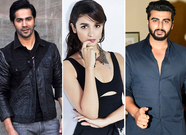 Varun Dhawan and Arjun Kapoor gang up on Alia Bhatt on Instagram!