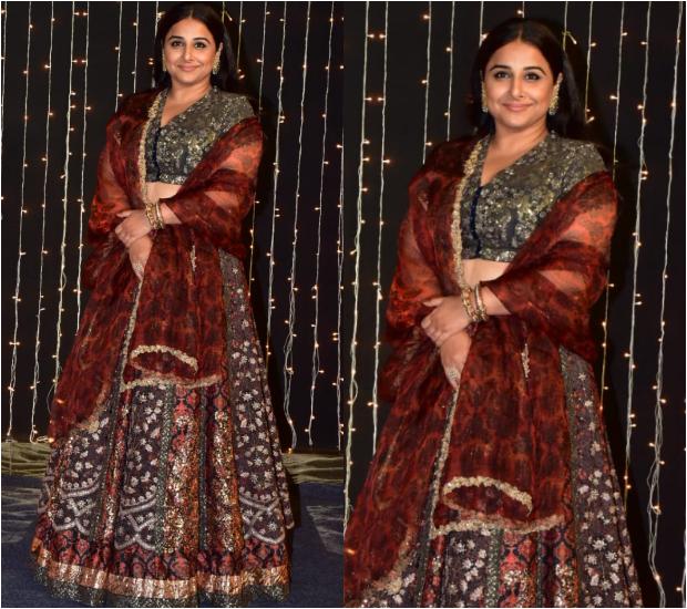 Vidya Balan at Priyanka Chopra - Nick Jonas Wedding Reception
