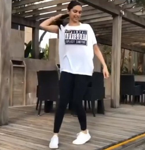 WATCH Deepika Padukone working on speed agility quickness is giving us major fitness goals this holiday season