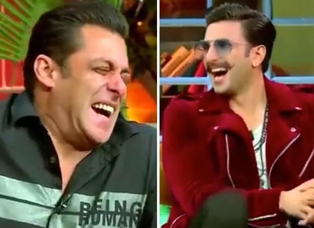 WATCH Kapil Sharma makes Salman Khan, Ranveer Singh CRY tears of laughter on his show