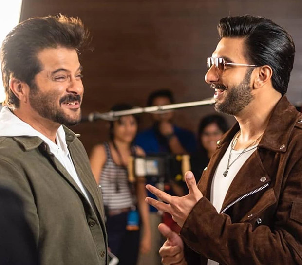 When Simmba bros Ranveer Singh and Rohit Shetty bumped into 'Lakhan' Anil Kapoor
