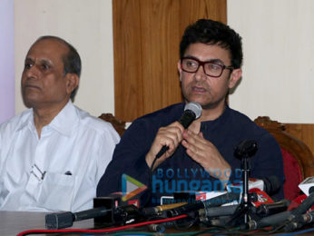 Aamir Khan snapped at Child Obesity awareness event