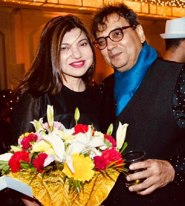 Aishwarya Rai Bachchan and Salman Khan come together to celebrate Subhash Ghai's birthday (see INSIDE pics)
