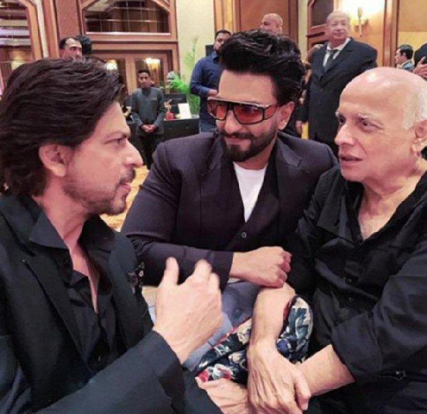 Allia Bhatt shares pic of 'her boys' Shah Rukh Khan, Ranveer Singh and Mahesh Bhatt; Ranbir Kapoor is missing