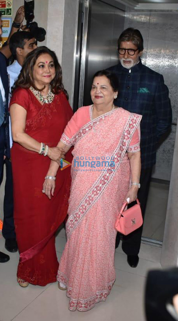 Amitabh Bachchan, Boney Kapoor and others snapped at Kokilaben Ambani Hospital for an event (1)