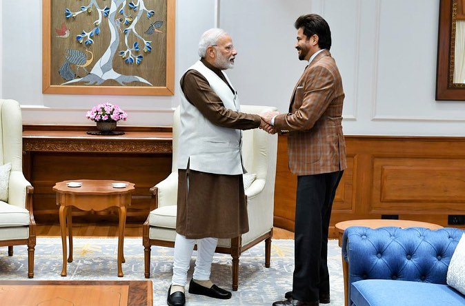Anil Kapoor meets PM Narendra Modi, says he is humbled and inspired