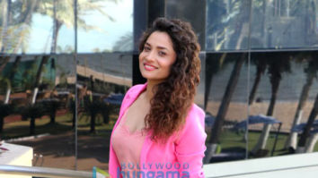 Ankita Lokhande snapped promoting the film Manikarnika - The Queen Of Jhansi