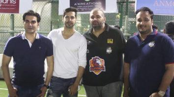 Arbaaz Khan and Dino Morea at Zeeshan Siddique's Box Cricket Season 2