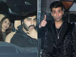 Arjun Kapoor with GF Malaika Arora, Karan Johar and others at Sanjay Kapoor's New Year Bash