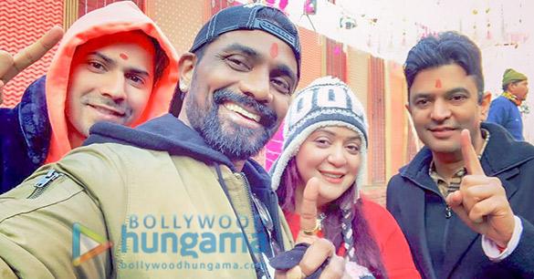 Varun Dhawan begins the shoot for Bhushan Kumar and Remo D'Souza's dance film in Punjab!