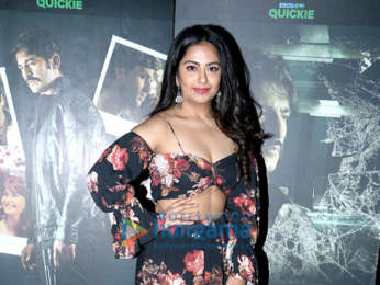 Celebs grace the special screening of Hiten Tejwani's starrer Eros Now Quickie, The Investigation