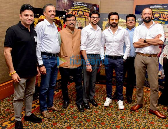 Emraan Hashmi and Aditya Thackeray grace the Cheat India press meet (3)