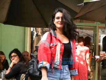 Fatima Sana Shaikh spotted at The Kitchen Garden