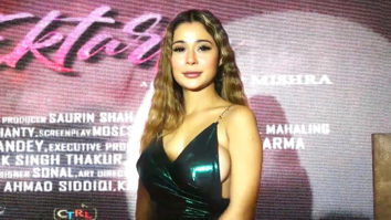 First look launch of the film Pyar Ektarfa with Sara Khan