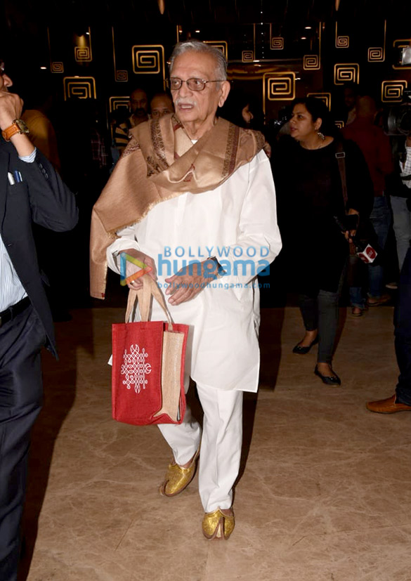 Gulzar graces the trailer launch of the animation film 'GGBB – Goopi Gawaiya Bagha Bajaiya' (2)
