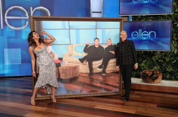 """He DM'ed me"" - Priyanka Chopra tells Ellen DeGeneres on how her husband Nick Jonas asked her out on a date"