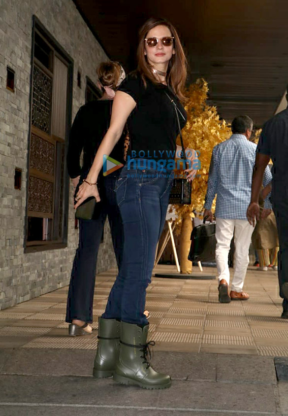 Hrithik Roshan and Sussanne Khan and spotted at Hakkasan in Bandra