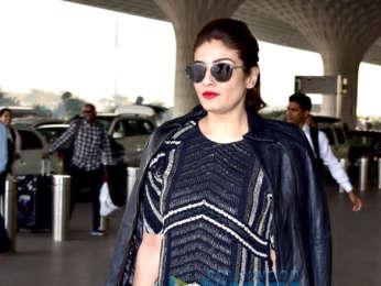 Kangana Ranaut, Raveena Tandon, Parineeti Chopra and others snapped at the airport