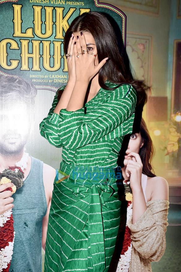 Kartik Aaryan, Kriti Sanon, Pankaj Tripathi and others grace the trailer launch of 'Luka Chuppi' (3)