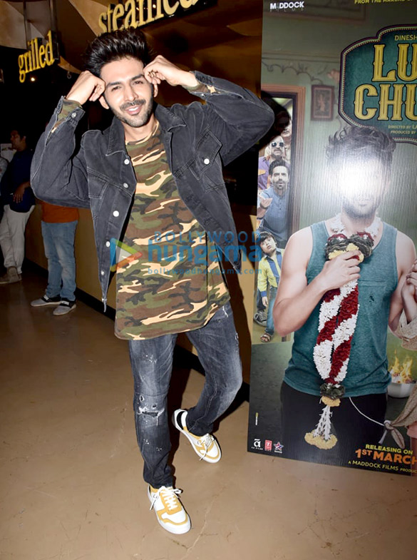 Kartik Aaryan, Kriti Sanon, Pankaj Tripathi and others grace the trailer launch of 'Luka Chuppi' (8)