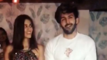 Kartik Aaryan and Kriti Sanon wrap up Luka Chuppi with 'Poster Lagwa Do' dance