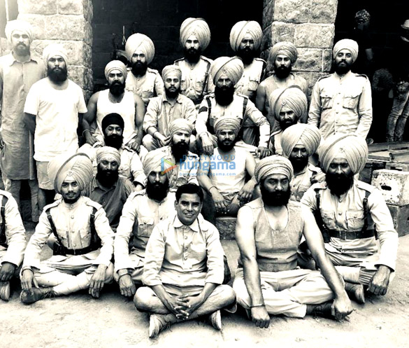 On The Sets Of The Movie Kesari