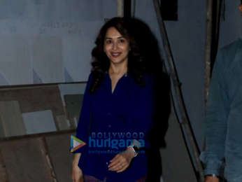 Madhuri Dixit spotted at Kromakay salon in Juhu