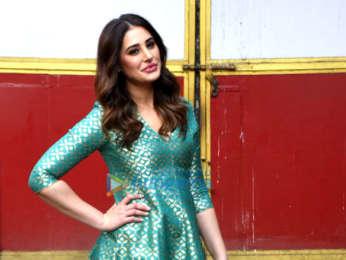 Nargis Fakhri snapped promoting her film Amavas in Mumbai