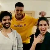 Poster Lagwa Do that the Khiladi Kumar grooved with Kartik Aaryan and Kriti Sanon