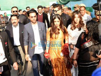 Ranbir Kapoor, Alia Bhatt, Ranveer Singh, Varun Dhawan and others snapped in Delhi to meet PM Narendra Modi