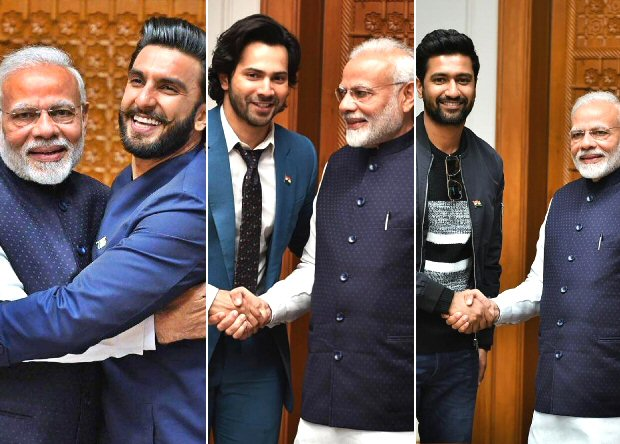 Ranveer Singh, Varun Dhawan, Vicky Kaushal, Bhumi Pednekar share moments from their meeting with PM Narendra Modi