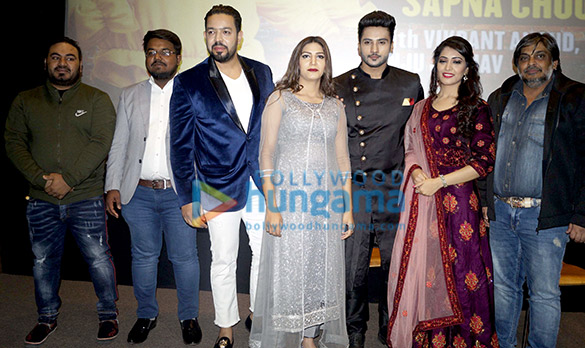 Sapna Chaudhary, Vikrant Anand, Zuber Khan and Anju Jadhav grace the trailer launch of the film Dosti Ke Side Effectss