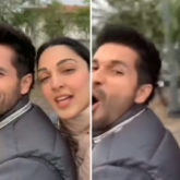Shahid Kapoor and Kiara Advani enjoy bike ride in chilly weather of Delhi on the sets of Kabir Singh