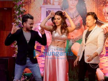 Sherlyn Chopra snapped at Tunu Tunu album launch