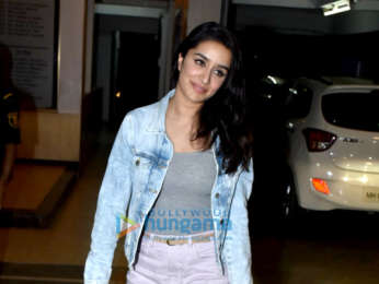 Shraddha Kapoor snapped at a friend's place