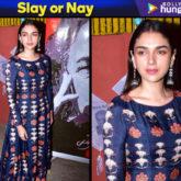 Slay or Nay - Aditi Rao Hydari in Nautanky by Nilesh Parashar (Featured)
