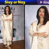 Slay or Nay - Aishwarya Rai Bachchan in Sukriti and Aakriti for Raag Shayari premiere (Featured)