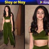 Slay or Nay - Ananya Panday in Kanika Goyal for Punit Malhotra's birthday bash (Featured)