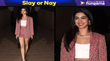 Slay or Nay - Khushi Kapoor in Topshop for Punit Malhotra's birthday bash (Featured)