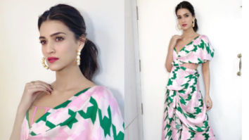 Slay or Nay - Kriti Sanon in Papa Don't Preach by Shubhika for Luka Chuppi promotions (Featured)