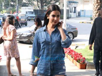 Sonal Chauhan spotted at Yauatcha in BKC